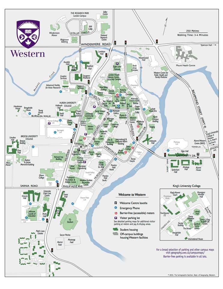 university of western ontario campus map Orientation Guide Life On Campus Student Legal Society university of western ontario campus map